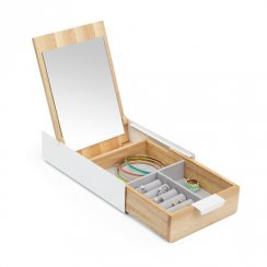 Reflexion Storage Box - White/Natural