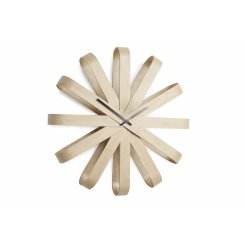 Ribbonwood Wall Clock - Natural