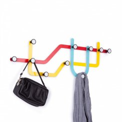 Subway Multi Coat Hook - Multicoloured