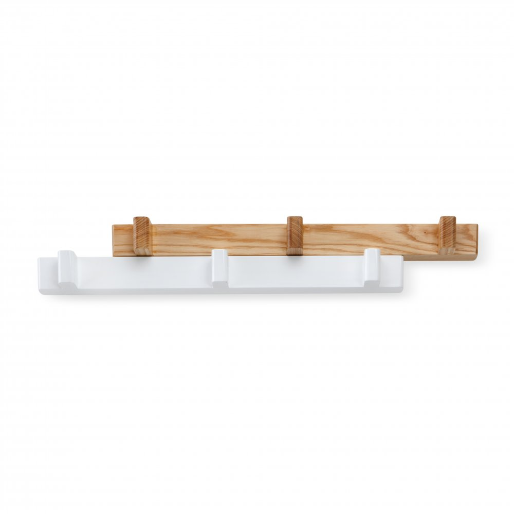 Switch Coat Hook - White/Natural