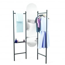 Vala Freestanding Valet And Mirror