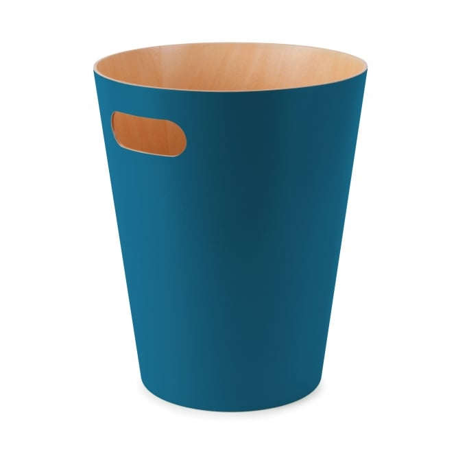 Umbra Woodrow Waste Bin - Teal