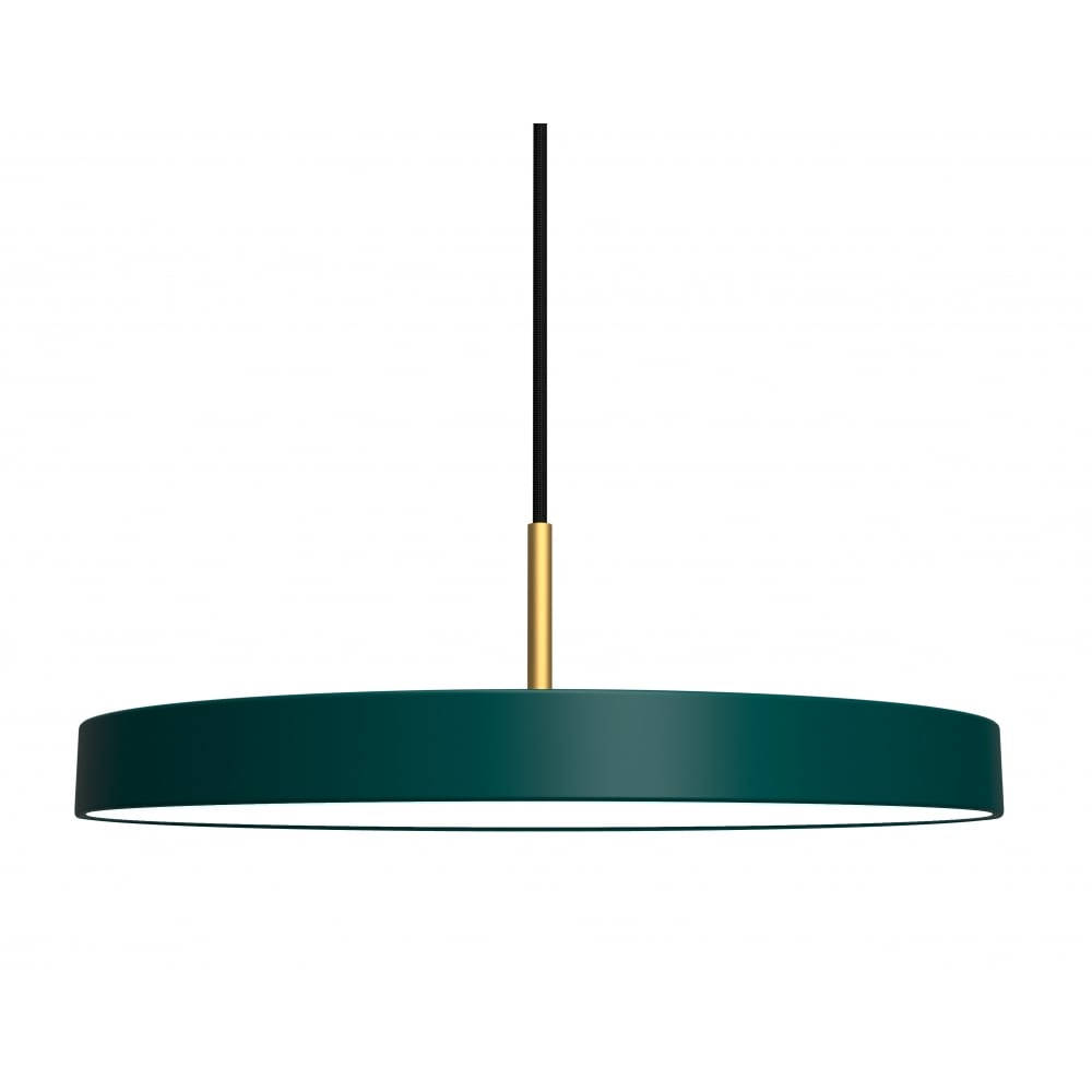 Vita asteria pendant light forest green black by design asteria pendant light forest green aloadofball Choice Image