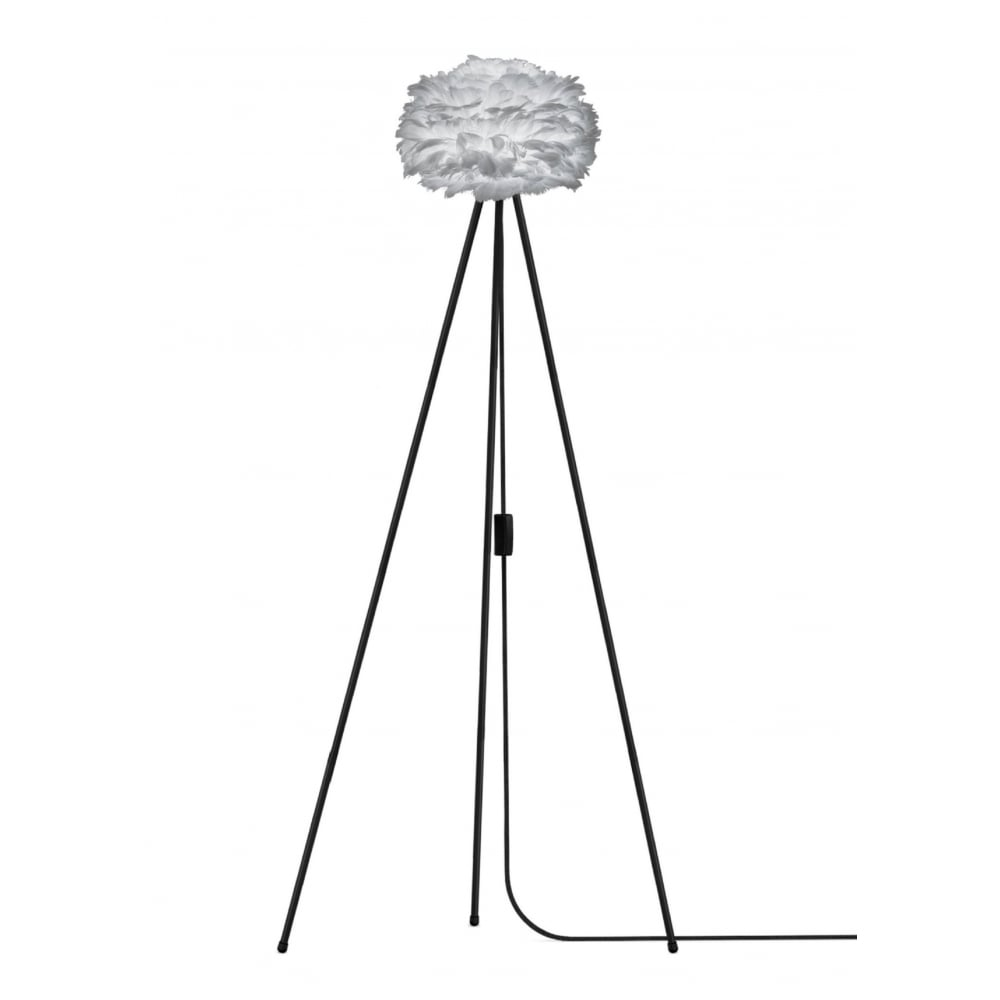 Vita light grey feather eos miniblack tripod floor lamp black by eos tripod floor lamp light grey feather eos miniblack tripod aloadofball Gallery