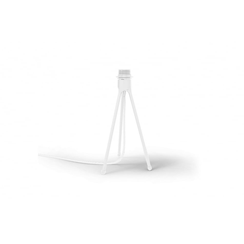 eos tripod table lamp light grey feather eos mediumwhite tripod