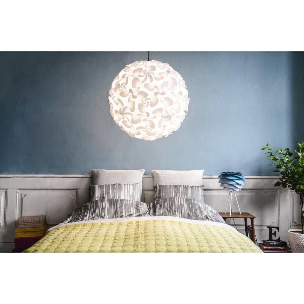 Lora ceiling pendantlamp shade white black by design lora ceiling pendantlamp shade white aloadofball Images