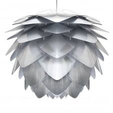 Silvia Pendant Light Shade - Steel