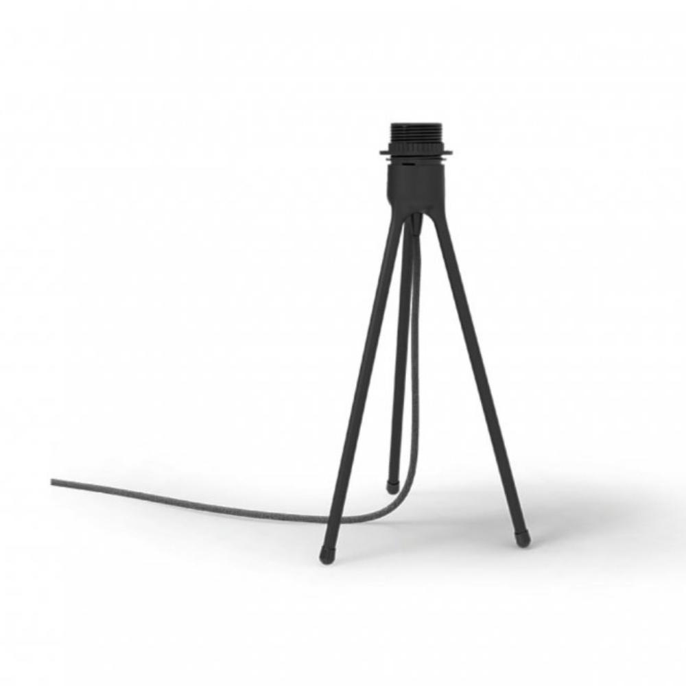 Vita tripod table lamp stand black black by design tripod table lamp stand black aloadofball Choice Image