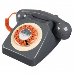 746 Retro Telephone - Concrete Grey