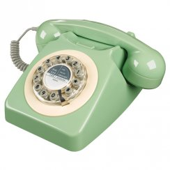 746 Retro Telephone - Swedish Green