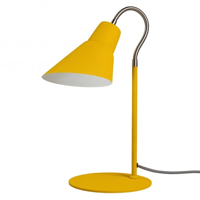 Wild & Wolf Gooseneck Table/Desk Lamp - English Mustard