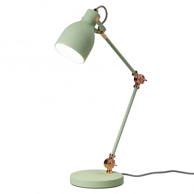 Wild & Wolf Task Desk Lamp - Swedish Green