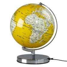 Wild Wood Illuminated LED Globe Light - English Mustard