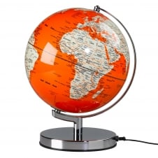 Wild Wood Illuminated LED Globe Light - Goldfish Orange