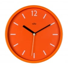 Wild Wood Retro Style Wall Clock 30cm - Goldfish Orange