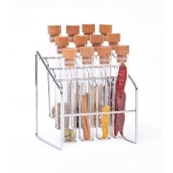 Spice Lab Spice Rack - 12 Tubes