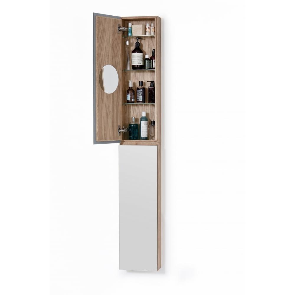 Zone Bathroom Cabinet  Tall 1622  Oak