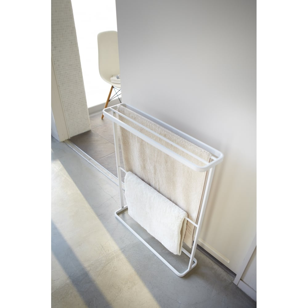 Yamazaki Towel Rail Black One Size