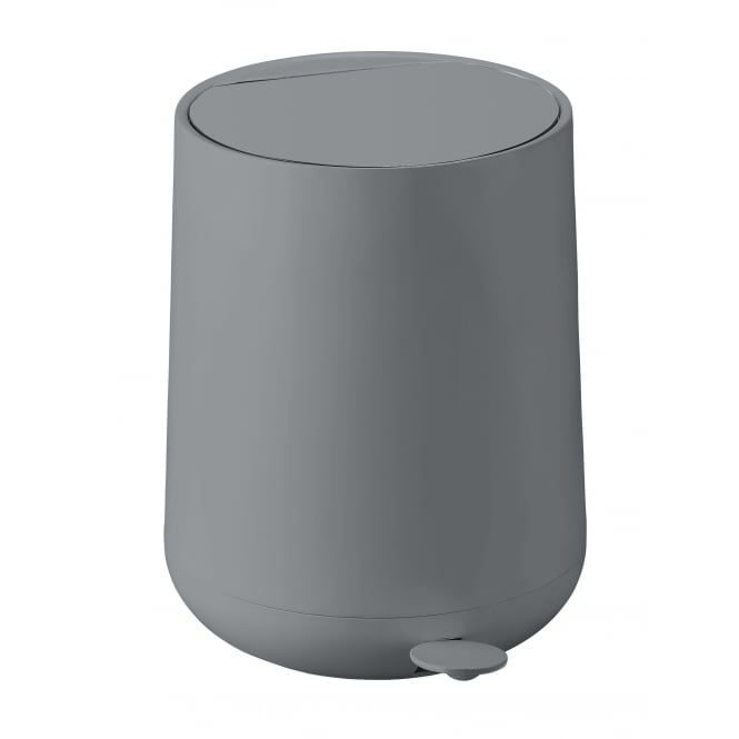 Zone Denmark Nova 5 Litre Bathroom Pedal Bin - Grey