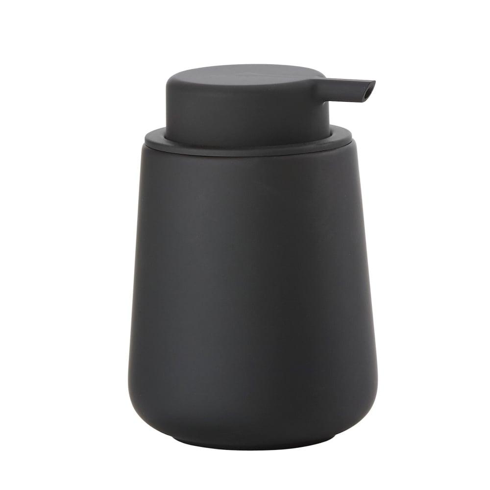Zone nova one soap dispenser black black by design for Zone bathroom accessories