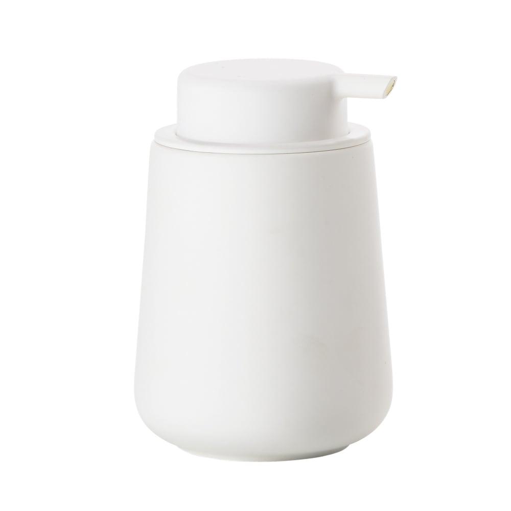Zone nova one soap dispenser white black by design for Zone bathroom accessories